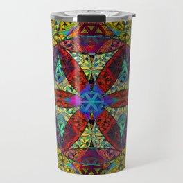 The Flower of Life (Sacred Geometry) Travel Mug