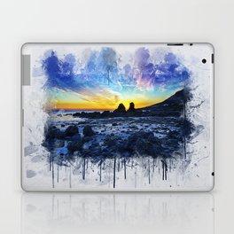 Ocean Sunset Painting Laptop & iPad Skin