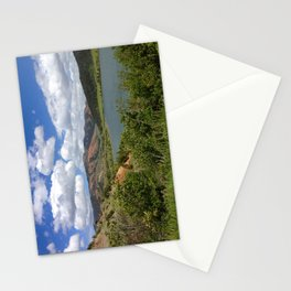 Painted Hills, Gros Venture Wilderness, Wyoming Stationery Cards
