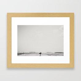 Blue Point Framed Art Print