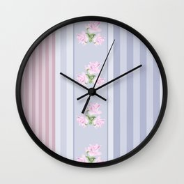 Combined, patchwork  2 Wall Clock
