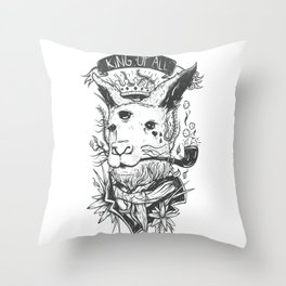 King Of All Throw Pillow