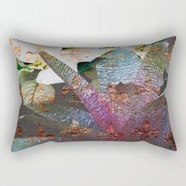 Reaching Up Rectangular Pillow