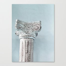Corinthian capital Canvas Print