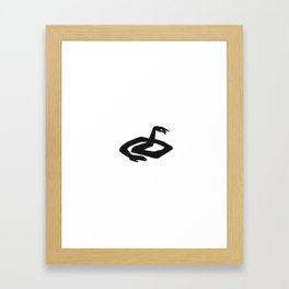 Zzzz Framed Art Print