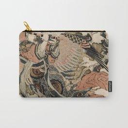 Hokusai, Aspara and the flute – musician manga, japan,hokusai,japanese,北斎,ミュージシャン Carry-All Pouch