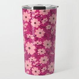 Cosmea pink Travel Mug