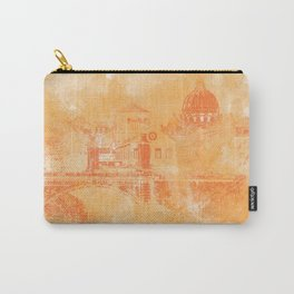 A look at history - Rome, Italy Carry-All Pouch