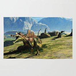 Ichthyovenator Dinosaur Rug