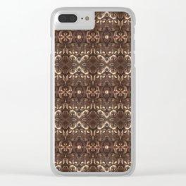Bali Bricks Clear iPhone Case