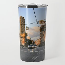 Tel aviv street to the beach Travel Mug