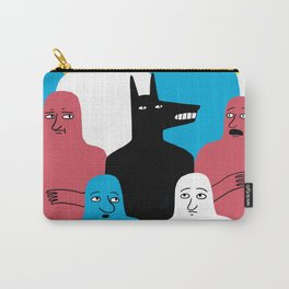 A Wolf Carry-All Pouch
