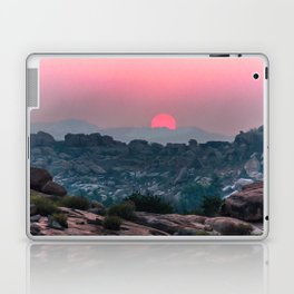Otherworldly sunrise of Hampi, India Laptop & iPad Skin