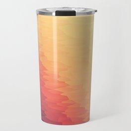 Orange Peach Ombre Travel Mug
