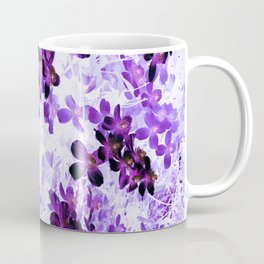 Invert Clematis Design Coffee Mug