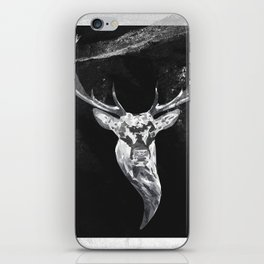 Deer in a montain iPhone Skin