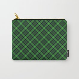 Green Scottish Fabric High Res Carry-All Pouch