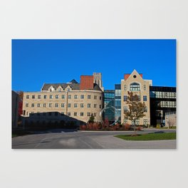 University of Toledo- Stranahan Hall North and South Halls I Canvas Print