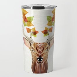 deer autumn Travel Mug