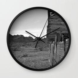 I am a dry man Wall Clock
