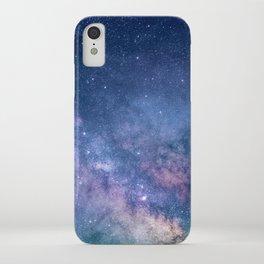 Milky Way Stars (Starry Night Sky) iPhone Case