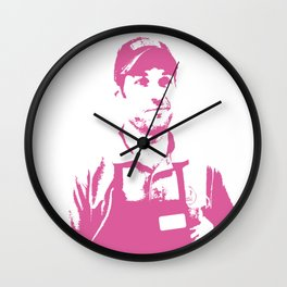 Baskin Robbins Always Finds Out Wall Clock