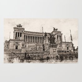 Altar of the Fatherland, Rome Rug