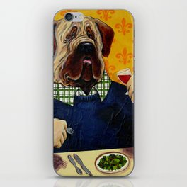 Massive Mastiff Munching iPhone Skin