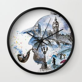 Mr. Sherlock Wall Clock