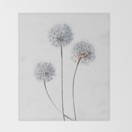 Dandelion 2 Throw Blanket