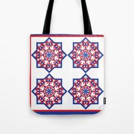 American Star Tiled Tote Bag