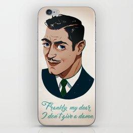 Clark Gable iPhone Skin