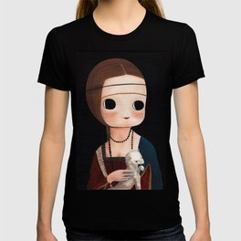The Lady with Ermine T-shirt