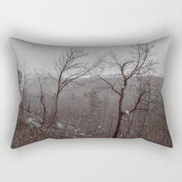 Wintry Desolation Rectangular Pillow