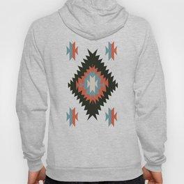 Southwestern Santa Fe Tribal Indian Pattern Hoody