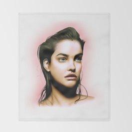 Barbara Palvin Throw Blanket