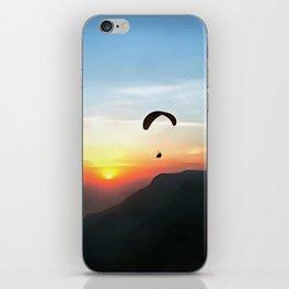 Sunset Paraglide iPhone Skin