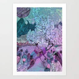 Crystal Kingdom Art Print