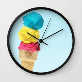 Ice cream 2 Wall Clock