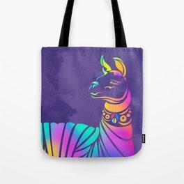 Llamita violeta by #Bizzartino Tote Bag
