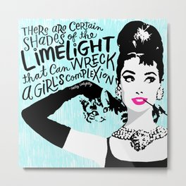 Certain Shades of the Limelight Metal Print