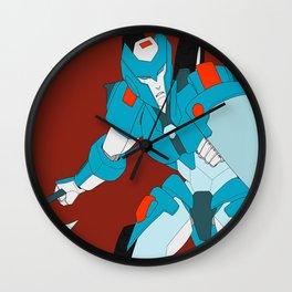 Fighting Chromia Wall Clock