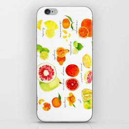Citrus iPhone Skin