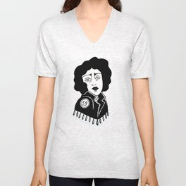 Frank N Further  Unisex V-Neck