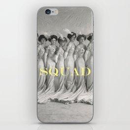 SQUAD iPhone Skin