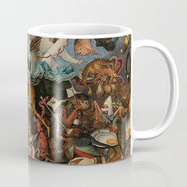 Pieter Bruegel the Elder The Fall of the Rebel Angels Coffee Mug