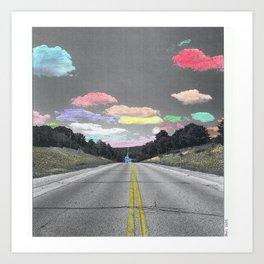 Road Trip Shower Curtain Art Print