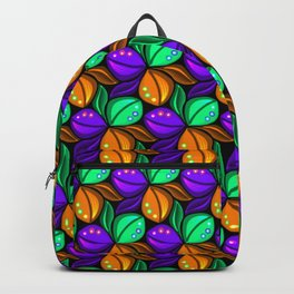 Vibrant Floral Tricolora Backpack