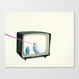 Talk Show Canvas Print