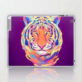 Neon tiger Laptop & iPad Skin